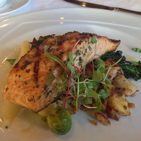 Grilled Salmon - Terra Restaurant, Thornhill, ON