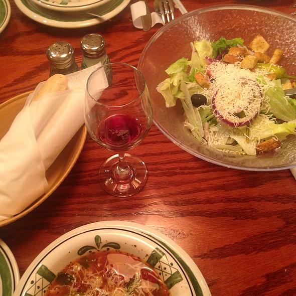 Soup, Salad, & Breadsticks @ Olive Garden
