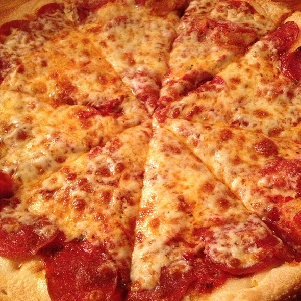 Pepperoni Pizza @ Sidestreet Pizza & Pasta