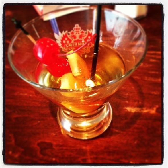 Smoked Manhattan - The Argyle Street Grill, Caledonia, ON
