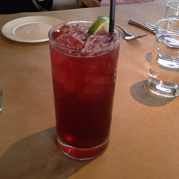 Sour Cherry Limeade - Mayfield Bakery & Cafe, Palo Alto, CA