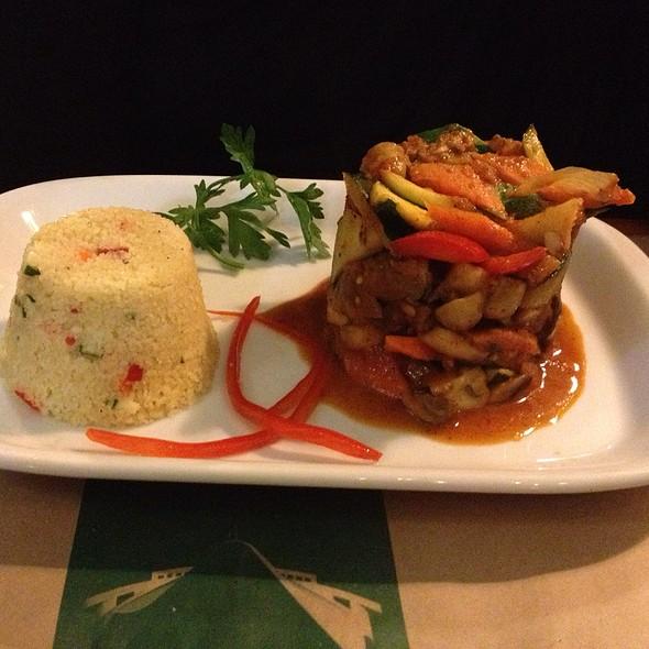 Couscous Y Verduras @ Restaurante Normandie