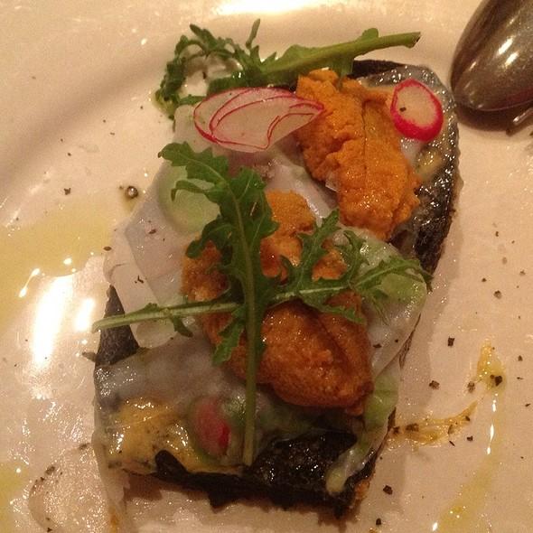 Black Bread With Sea Urchin @ Incanto