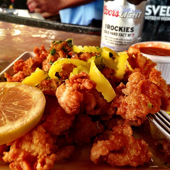 Calamari - Latitudes Restaurant & Bar, Hollywood, FL
