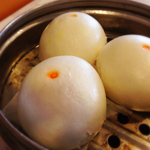 Yellow Bean Paste Bun @ Five Star Seafood Restaurant