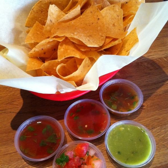 Chips and Salsa @ Las Fuentes Mexican Restaurant
