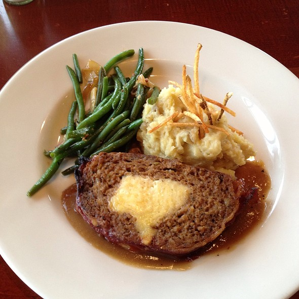 Stuffed Meatloaf - Lake Pointe Grill, Springfield, IL