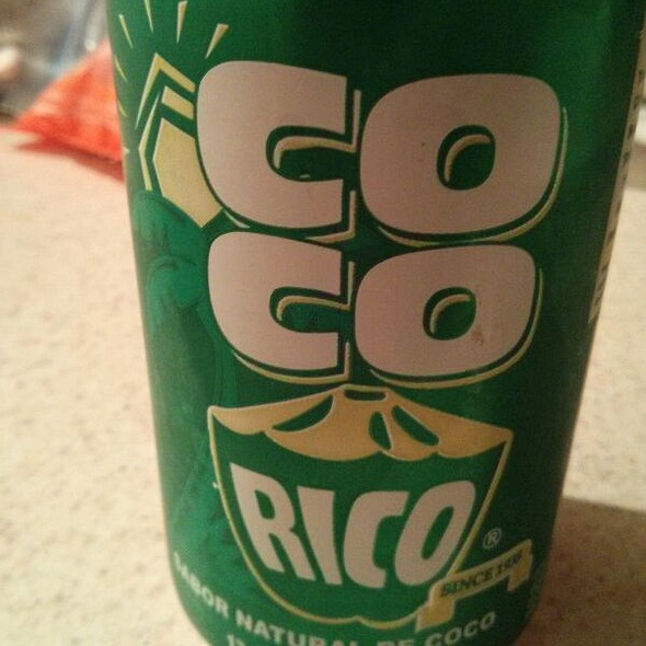 Coco Rico Coconut Soda @ International Food Club
