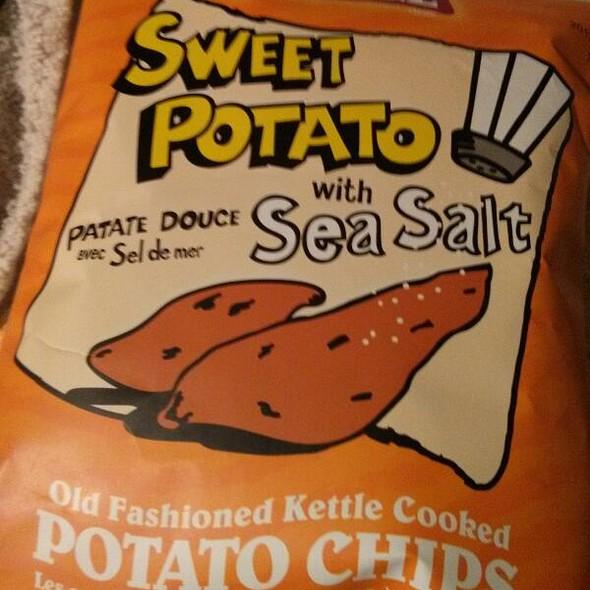 Old Cottage Sweet Potato Chips @ International Food Club