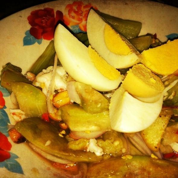 Thai Style Eggplant Salad @ Hua Plee