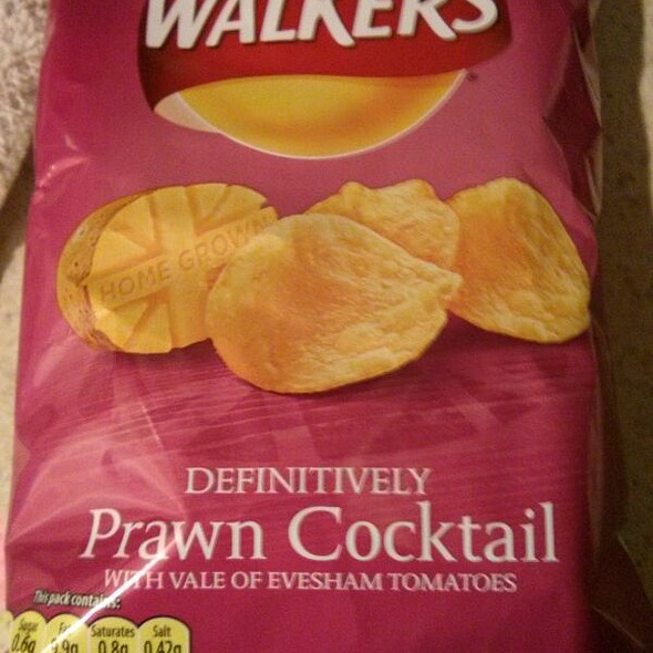 Walkers Definitively Prawn Cocktail Chips @ International Food Club