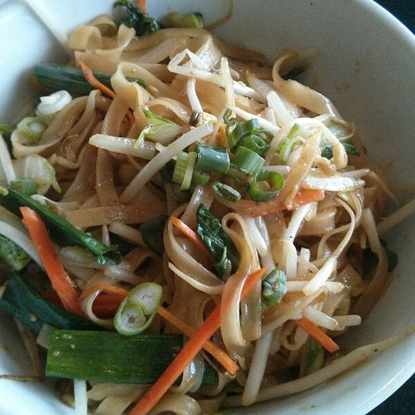 Stir Fried Rice Noodles With Vegetables And Tofu @ Noodles & Rice Cafe