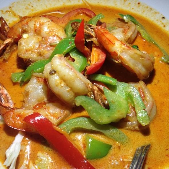 Chu Chi Shrimp At Thai Patio Hollywood
