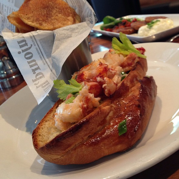 lobster roll @ Bluestem Brasserie