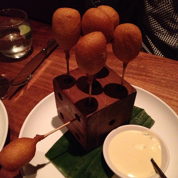 Lobster Corn Dogs @ AMERICÁS RIVER OAKS