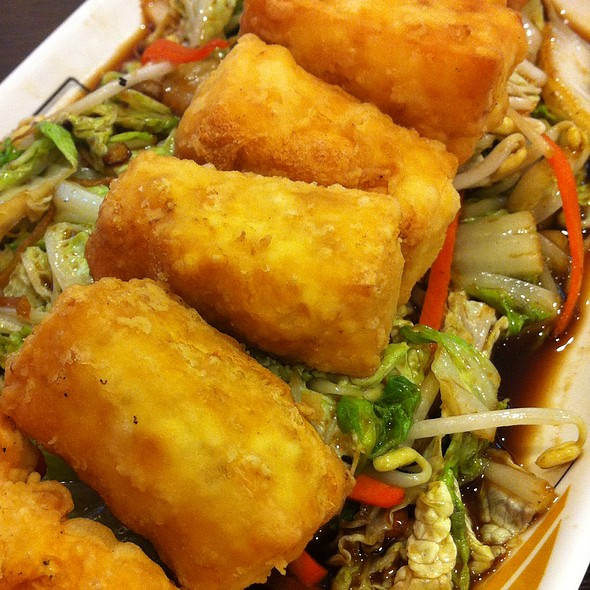 Tofu with Mixed Vegetables @ Hainanese Chicken Delights