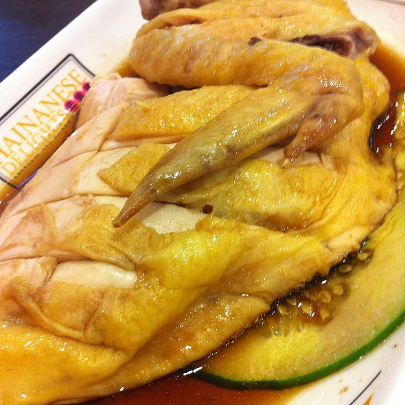 Hainanese chicken @ Hainanese Chicken Delights