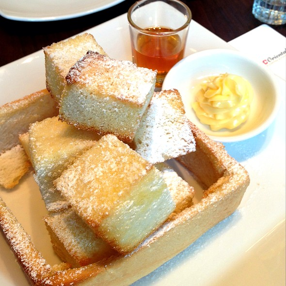 Honey Toast @ The UCC Oriental
