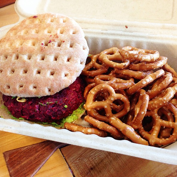 The Beet Burger @ MOM's Organic Market