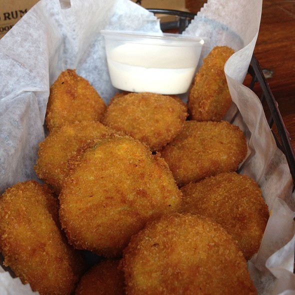 Fried Pickles @ Brother Jimmy's BBQ