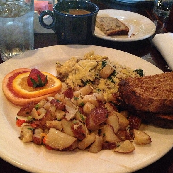 Joe's Scrambled - Eggs - BluWater Bistro - Leschi, Seattle, WA