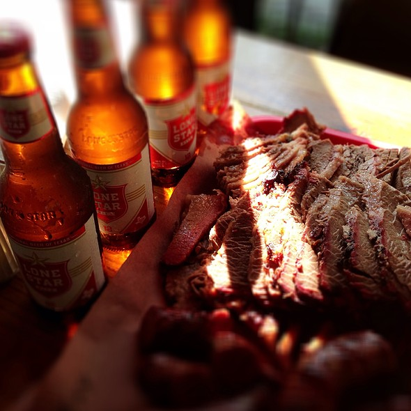 Beef Brisket @ Iron Works