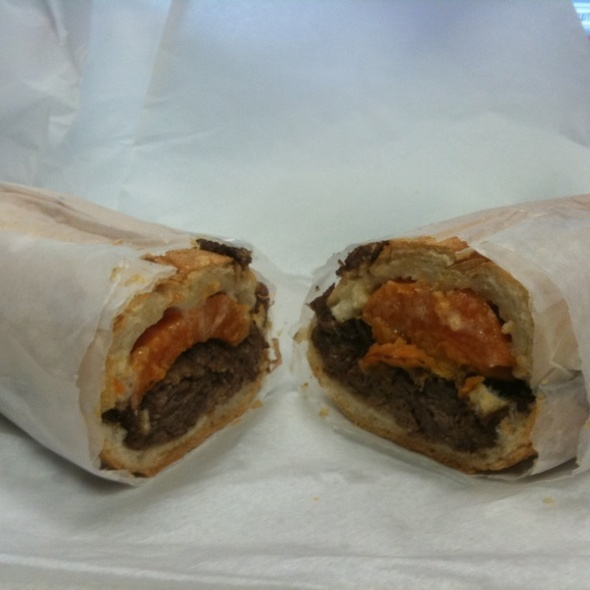 Braised Short Rib Sub @ No 7 Sub