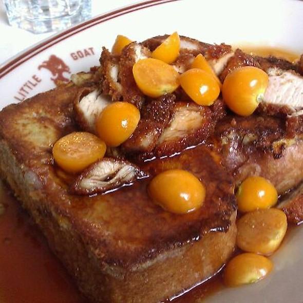 Bulls-Eye French Toast @ Little Goat