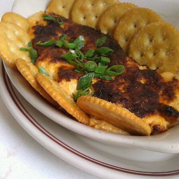 Hot Crab Dip ★★★★★ Backfin crab meat with toasted garlic bread @ Little Goat