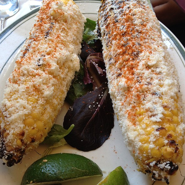 Grilled Corn @ Cafe Habana