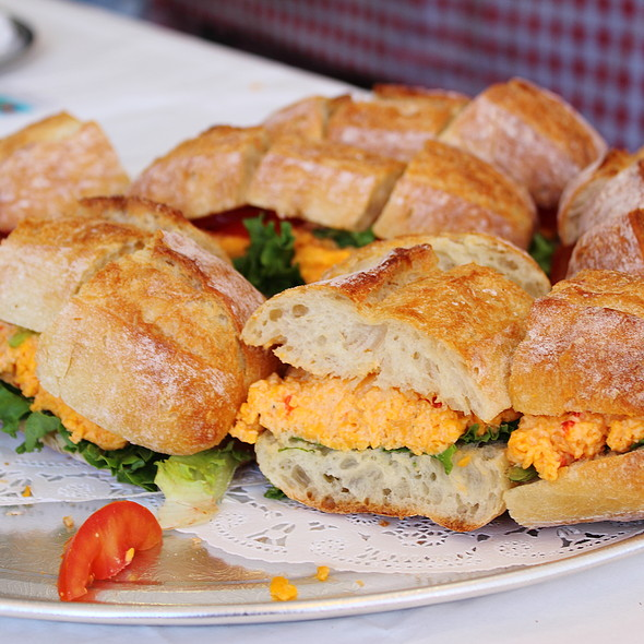 Pimento Cheese Sandwich @ The Ten Top