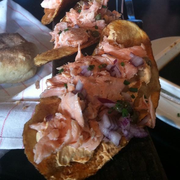 salmon chips @ Two Urban Licks