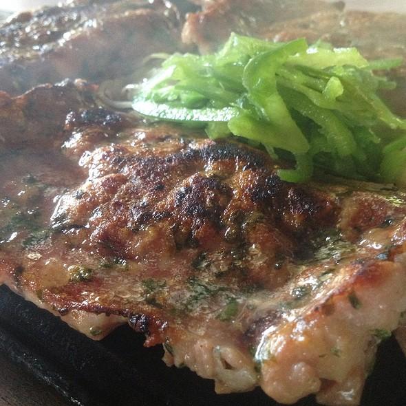 Linguiça Temperada Na Chapa @ Restaurante Xapuri