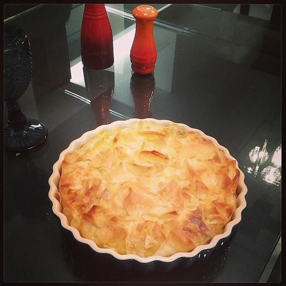 Torta Crocante de Camarão @ Pati e Pedro's Home
