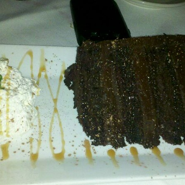 Chocolate Cake @ Morton's The Steakhouse - Caribe Hilton