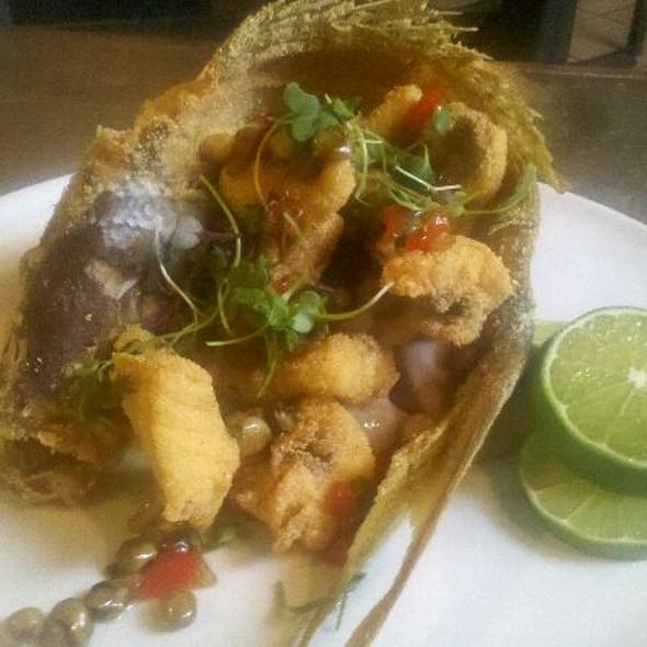 fried fish @ La Jaquita Baya