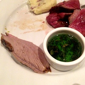 Leg Of Lamb With Mint Jelly