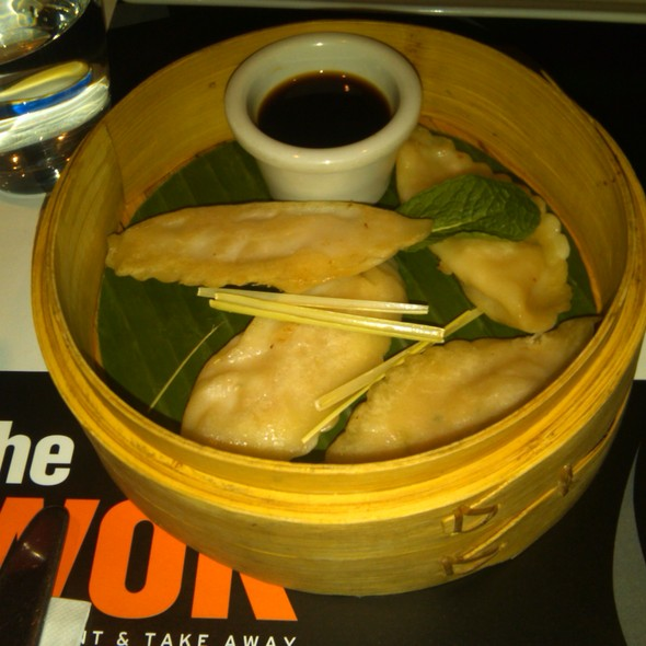 Steamed Prawn Dumplings @ The Wok