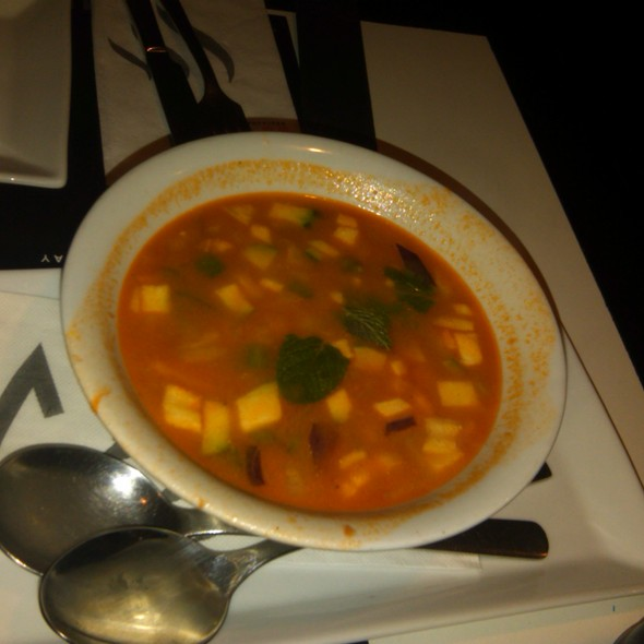 Red Curry Soup @ The Wok