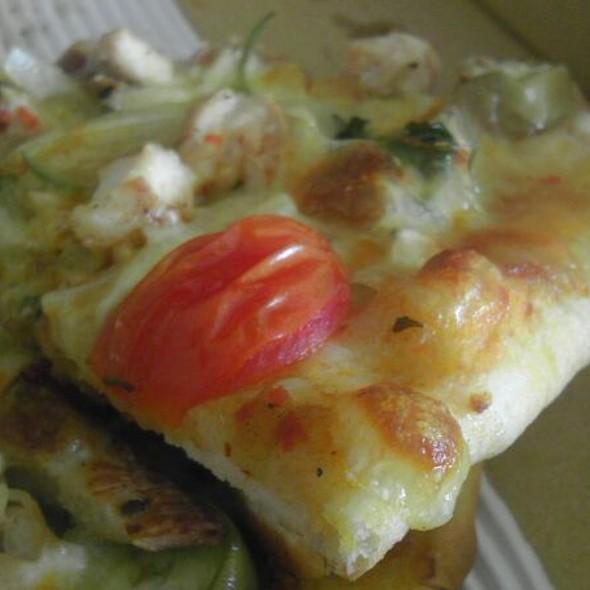 Thai Chicken Pizza @ Jaspas