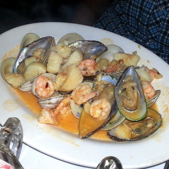 Mixed Seafood in Garlic Sauce - Meson Sevilla, New York, NY