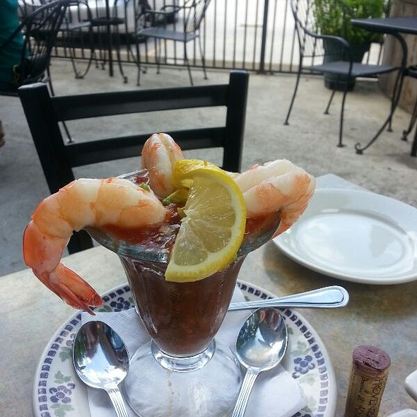 Shrimp Cocktail - Cafe Benedicte, Houston, TX