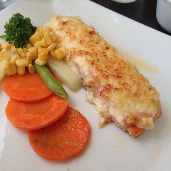 Baked Salmon @ Conti's Solenad