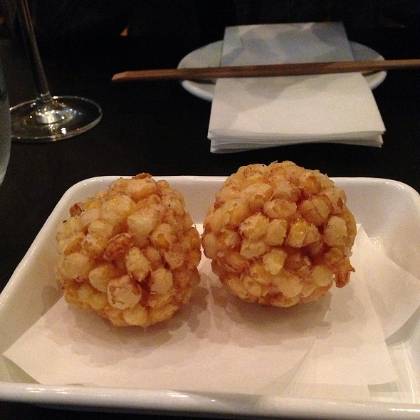 Sweet Corn Tempura @ YardBird