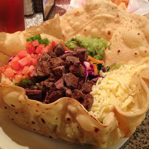 Steak Taco Salad at Chuy's Tex Mex