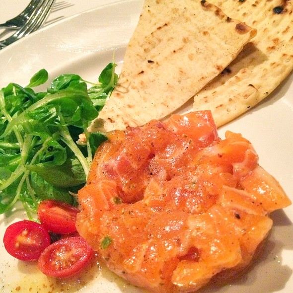 Cold Smoked Salmon Tartar - Emeril's New Orleans Fish House, Las Vegas, NV