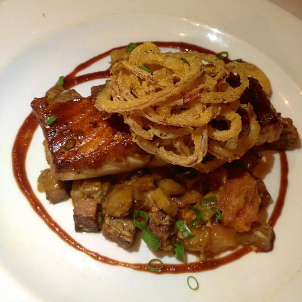 Emeril's Barbeque Salmon - Emeril's New Orleans Fish House, Las Vegas, NV