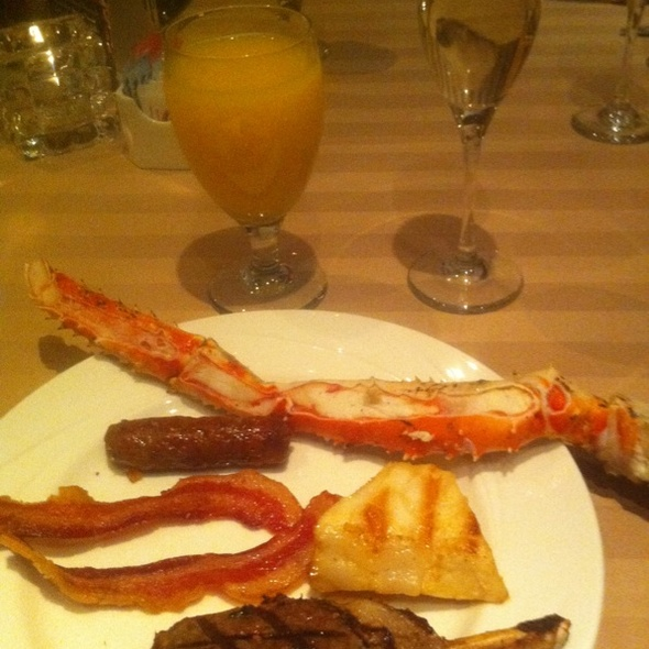 Breakfast Buffet - Sterling's Seafood Steakhouse at Silver Legacy Resort Casino, Reno, NV