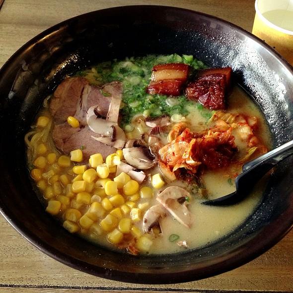 Tonkotsu Miso Ramen @ Ramen Underground