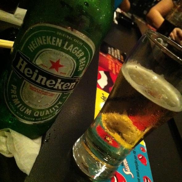 Heineken Beer @ Sumo Sushi Bar